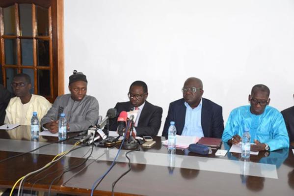 La nouvelle lettre de l'opposition à Aly Ngouille Ndiaye