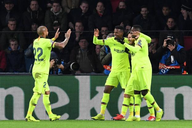 Le Barça qualifié et assuré de la première place, Tottenham survit
