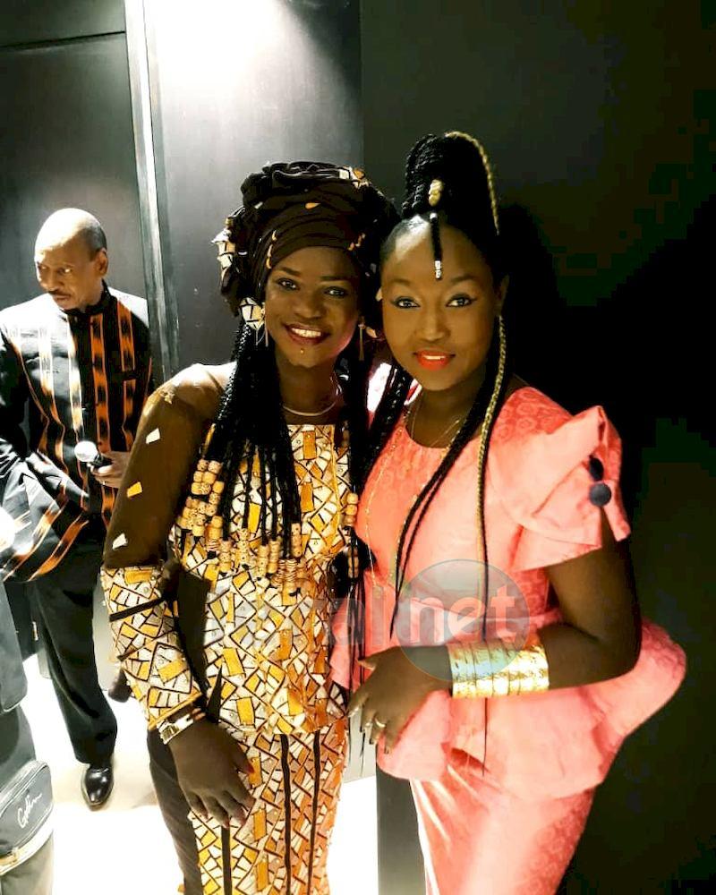 Maréma Fall avec Doussou Bakayoko,chanteuse malienne