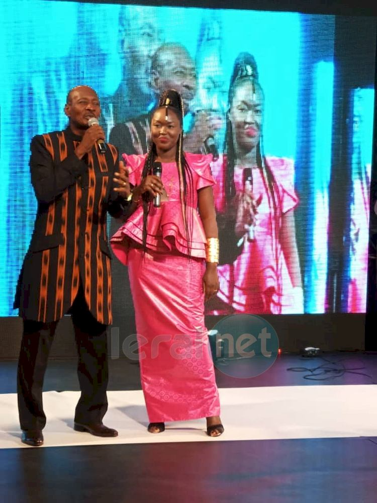 Maréma Fall avec Mr Boncana du mali