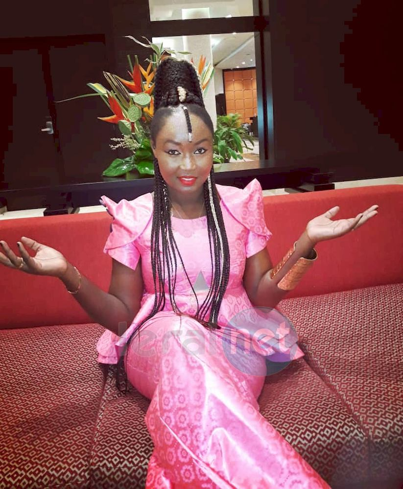 La chanteuse Maréma Fall à Bamako pour une émission avec Tv5