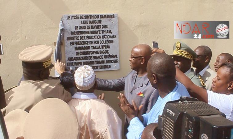 Education nationale: Serigne Mbaye Thiam fait le bilan de Macky