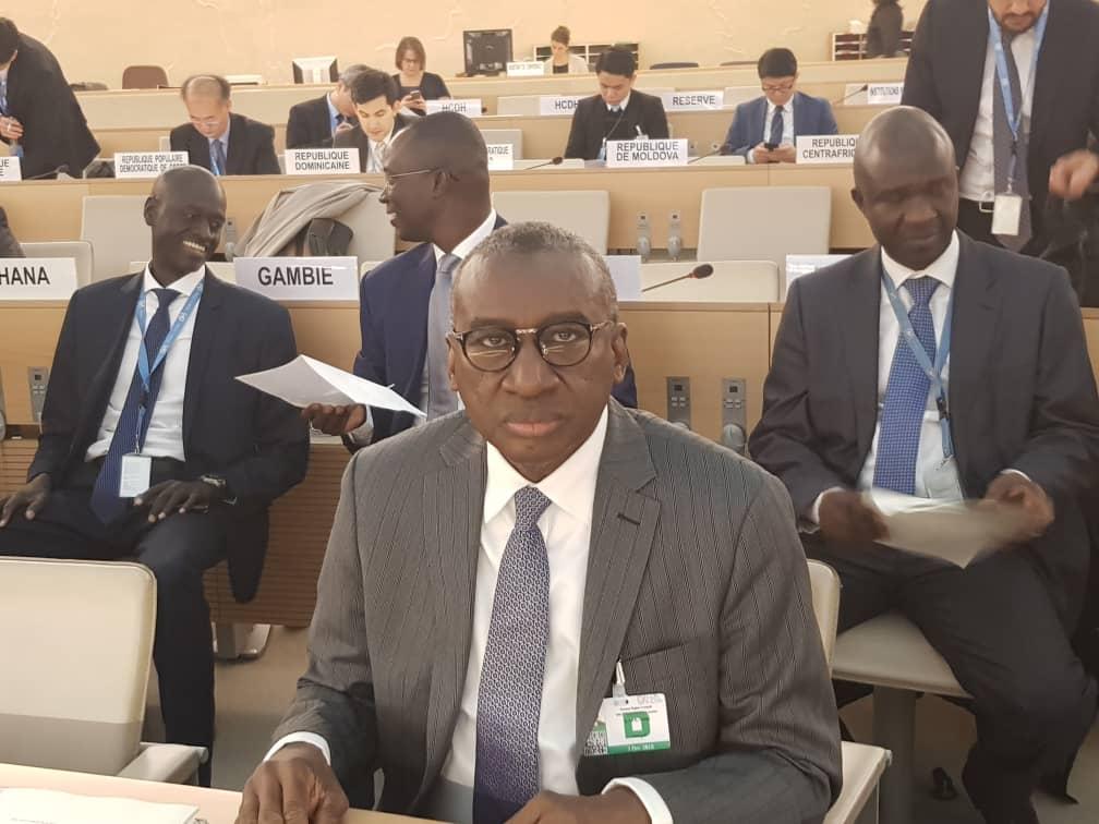 Urgent- Le Sénégal prend les commandes du Conseil des droits de l'Homme de l'Onu à Genève