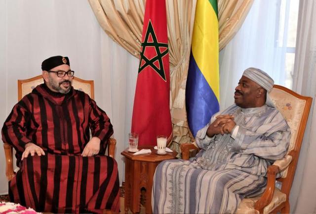Gabon: le roi du Maroc rend visite au président Ali Bongo hospitalisé