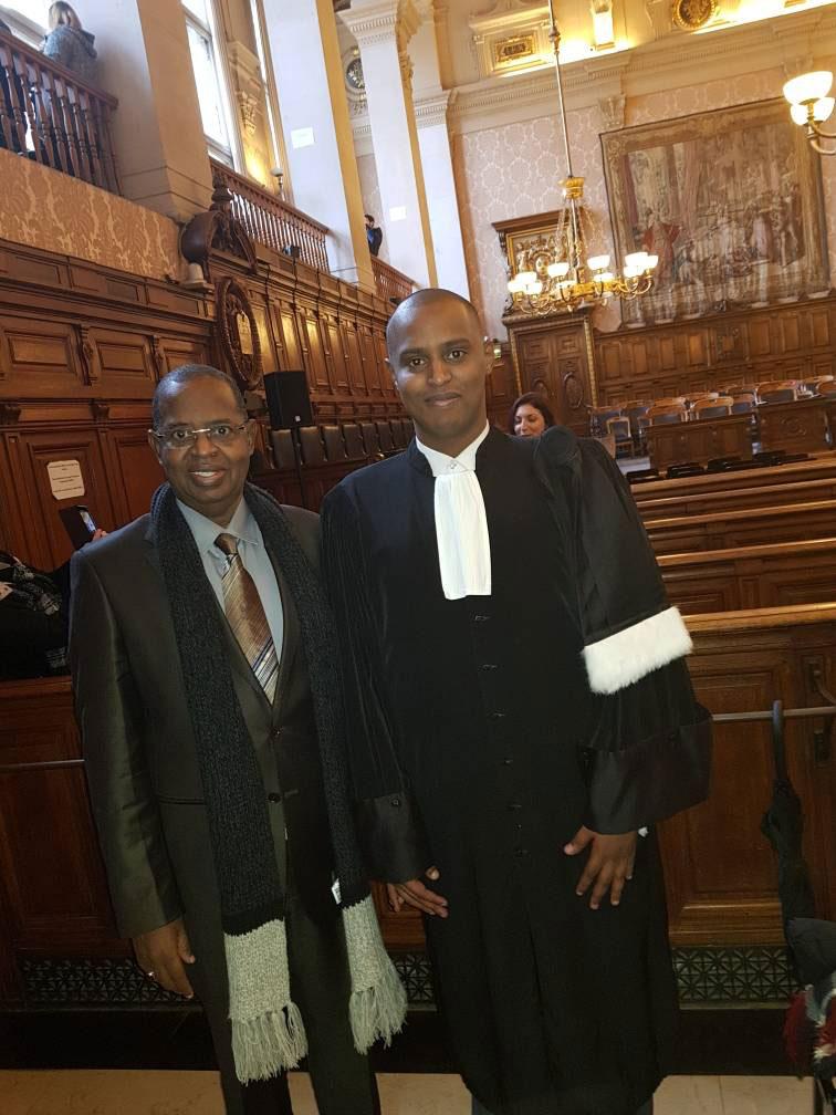 In memoriam : Sidy Lamine Niasse avec son fils, Cheikh Niasse