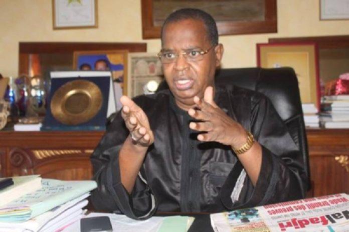 """""""Sidy Lamine Niasse, un patriote, un grand défenseur du peuple et de la démocratie"""" (Thierno Bocoum)."""