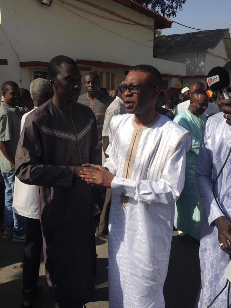 Photos: Levée du corps de Sidy Lamine: Journalistes, politiques et artistes sont au rendez -vous