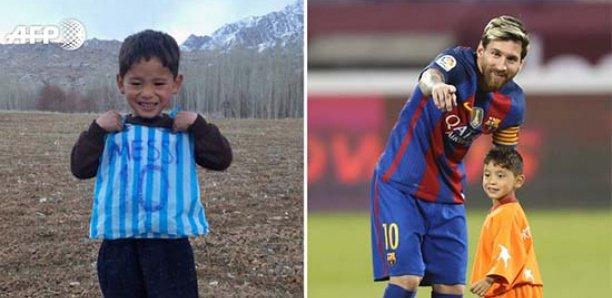 """Le cauchemar du """"Petit Messi Afghan"""", recherché par Les talibans"""