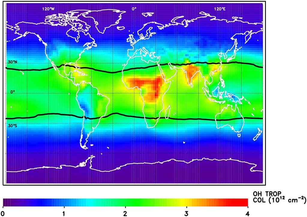 """La Nasa découvre un """"détergent"""" de gaz à effet de serre"""