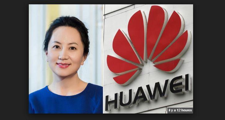 Meng Wanzhou, la directrice financière du groupe chinois Huawei, arrêtée au Canada
