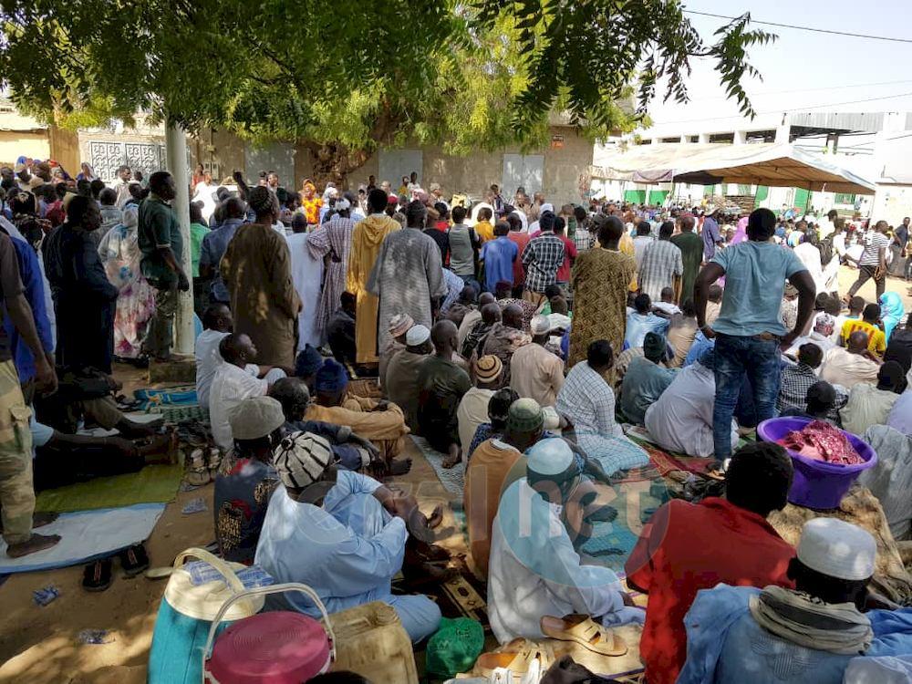 Vidéo - Photos: Inhumation de la dépouille de Sidy Lamine Niasse à la Grande mosquée de Kaolack