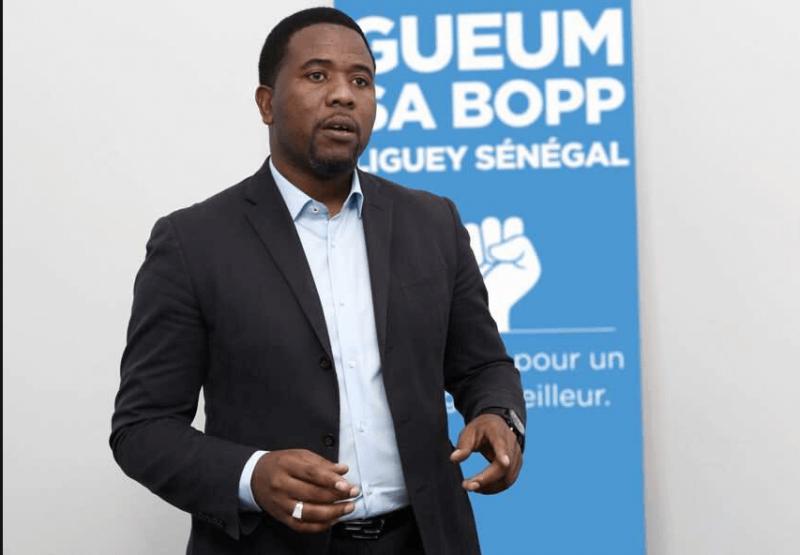 BOUGANE GUÈYE AUTEUR D'UNE FAKE NEWS