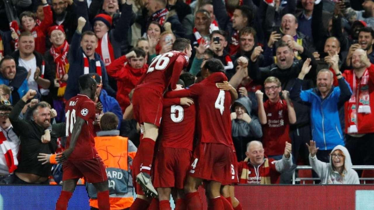 Liverpool est qualifié pour les 8es, Naples reversé en Ligue Europa