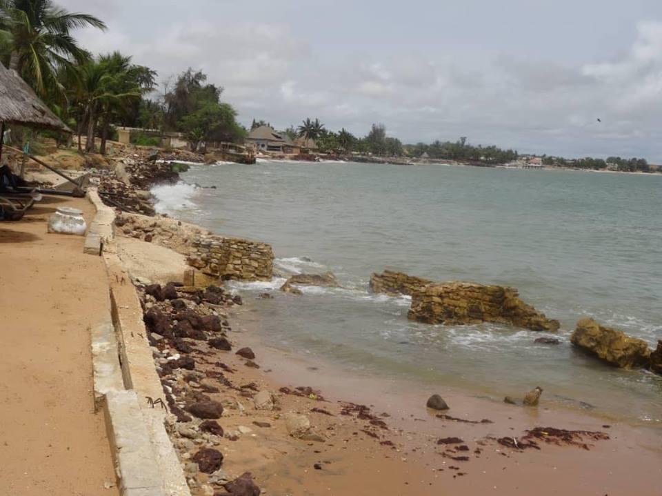 Érosion côtière: les hôtels de Saly Koulang perdent leur plage