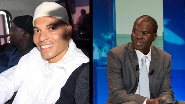 Rapprochement entre Karim Wade et Khalifa Sall