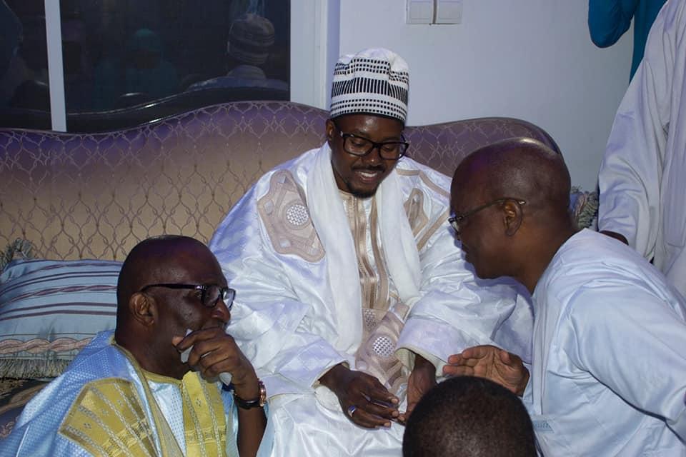 Visite de Serigne Bass Abdou Khadr chez le milliardaire Babacar Ngom