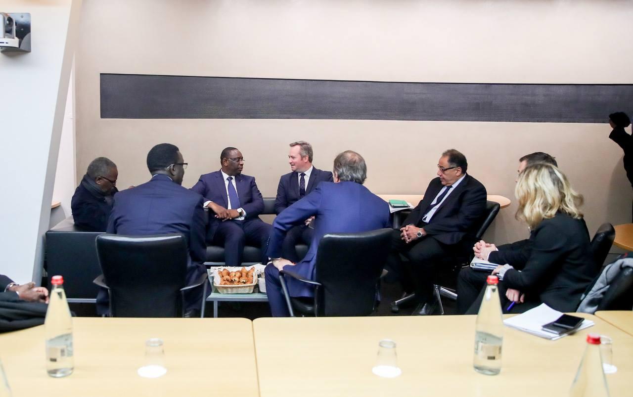 Discours du Président du Sénégal, Macky Sall, à Paris, le 17 Décembre