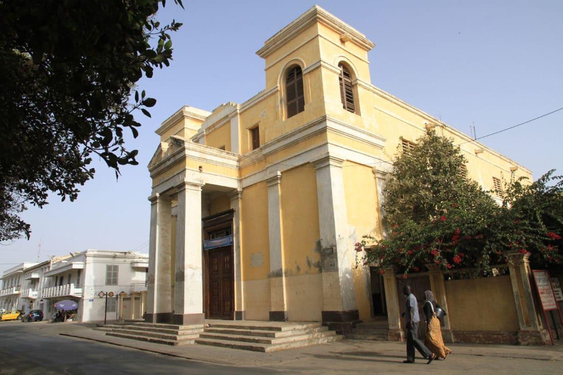 Au Sénégal, réfection de la plus vieille église d'Afrique de l'Ouest