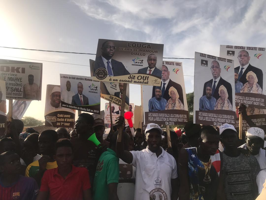 Vidéo - Bain de foule de Macky Sall à Louga: Macky Sall félicite les militants de Mamour Diallo et défie l'opposition