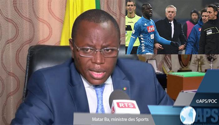 Série A: Matar Bâ esprime son soutien à Kalidou Koulibaly