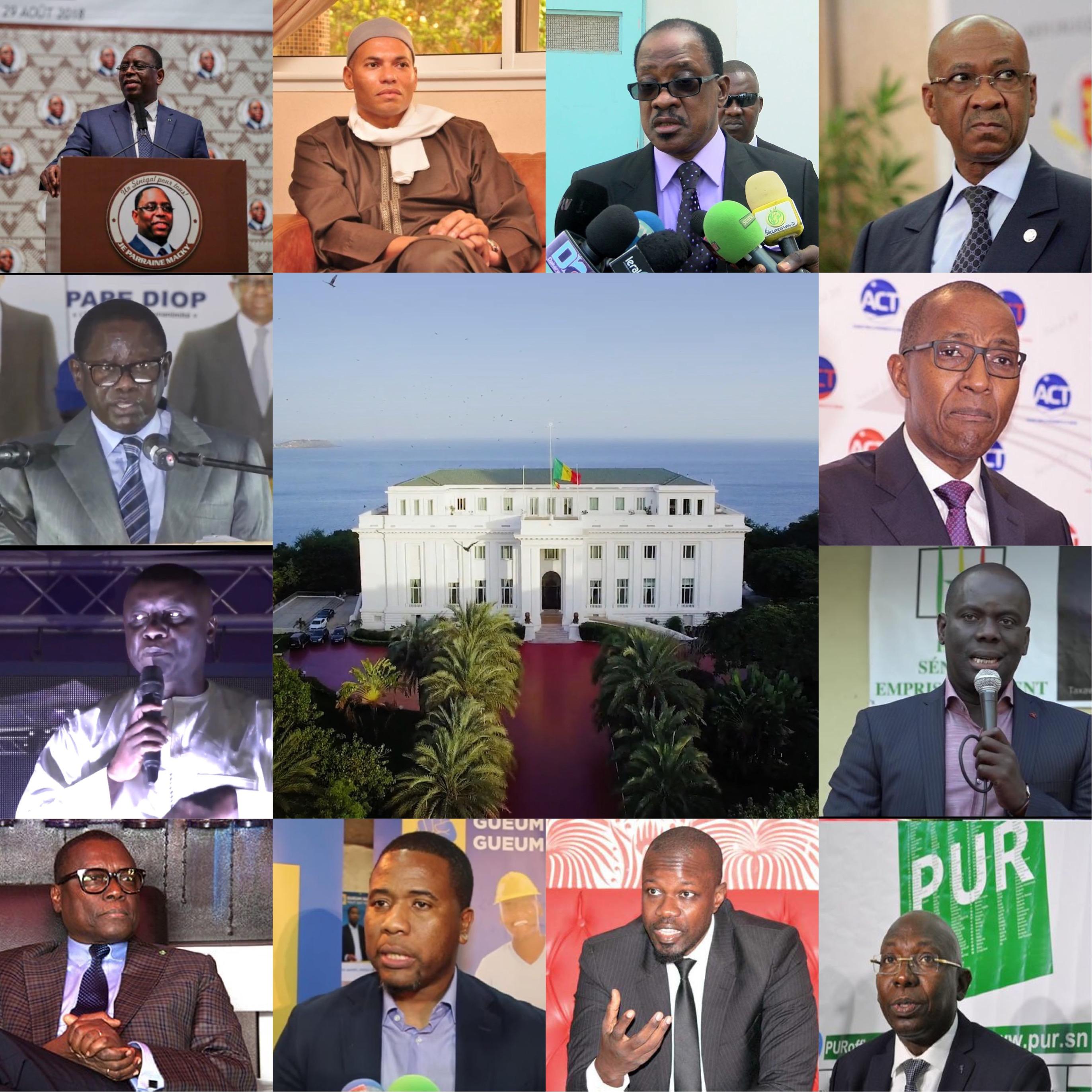 Conseil constitutionnel : Seuls 8 candidats sur 27 ont validé leurs fiches de parrainage…