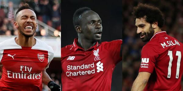 CAF Awards : Sadio Mané, Salah et Aubameyang finalistes