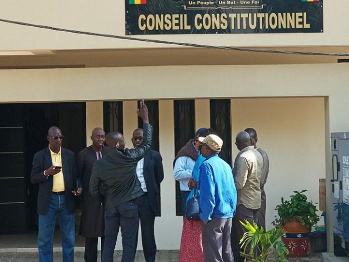 Urgent: Seuls 5 dossiers ont été retenus sur les 27 candidats qui sont passés devant le Conseil Constitutionnel