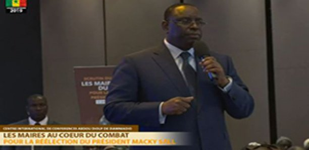 Présidentielle 2019 : 530 maires «réélisent» Macky Sall