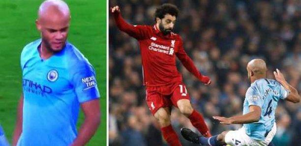 L'insulte de Kompany à Salah après sa grosse faute