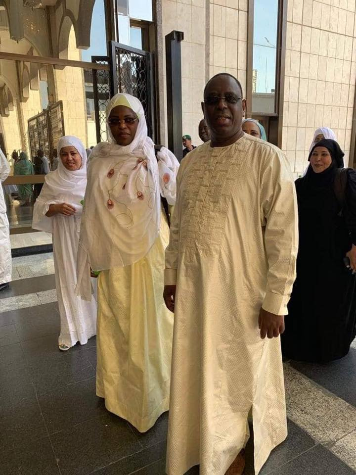 PHOTOS - Macky Sall, Marième Faye Sall, Amadou Sall, Diagna Ndiaye et Dame Diané à la Mecque