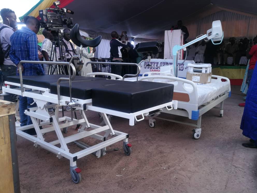 Photos : Dons de matériels médicaux à l'hôpital régional de Tambacounda par Sidiki Kaba