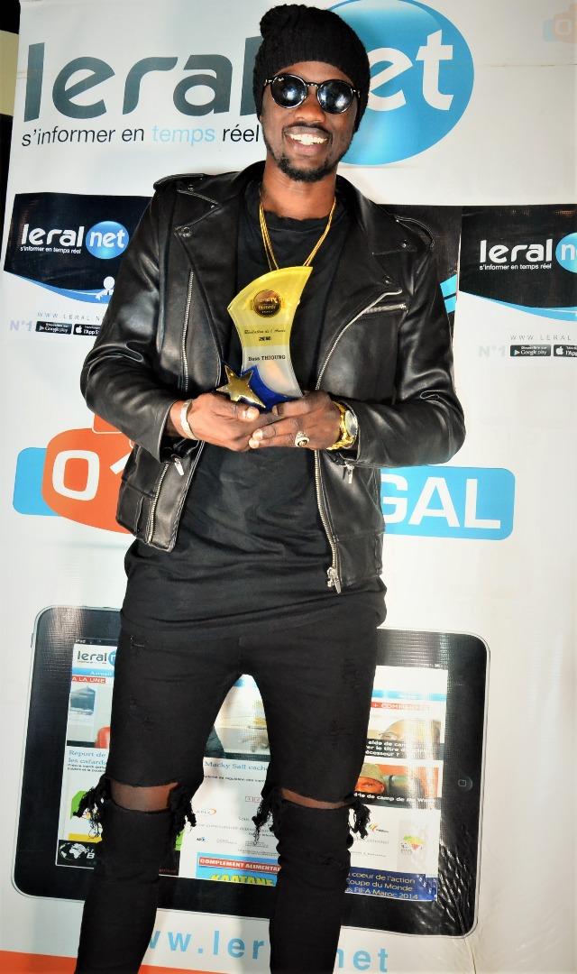 """LERAL AWARDS: Bass Thioung gagne le prix de la """"Révélation de l'année 2018"""""""
