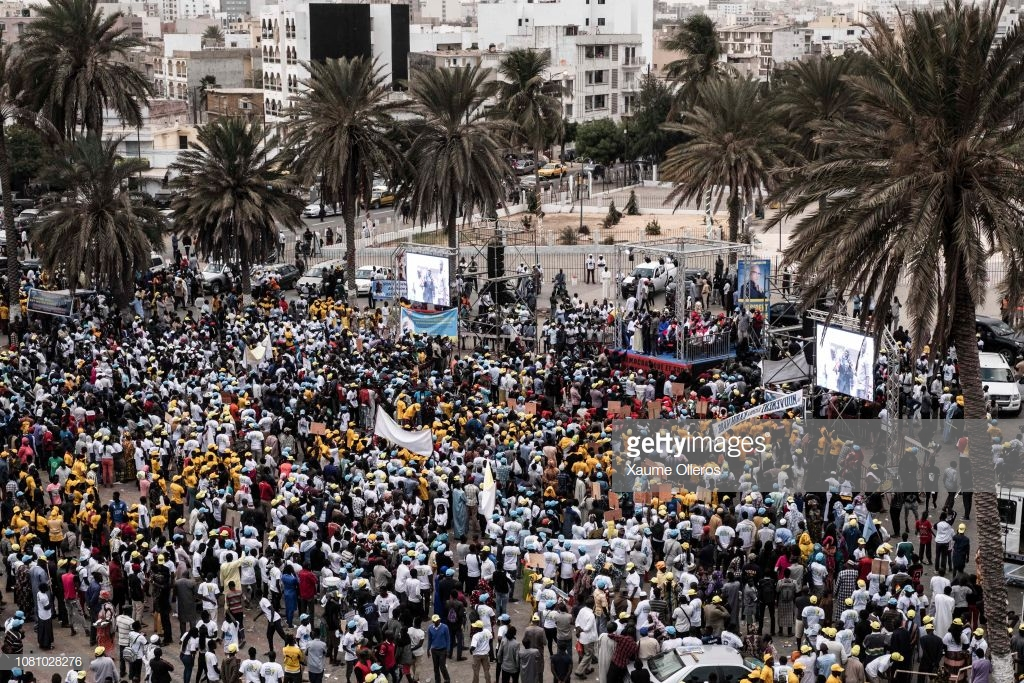 ( 23 Photos) En images, vivez le rassemblement de l'opposition à la place de l'Obélisque