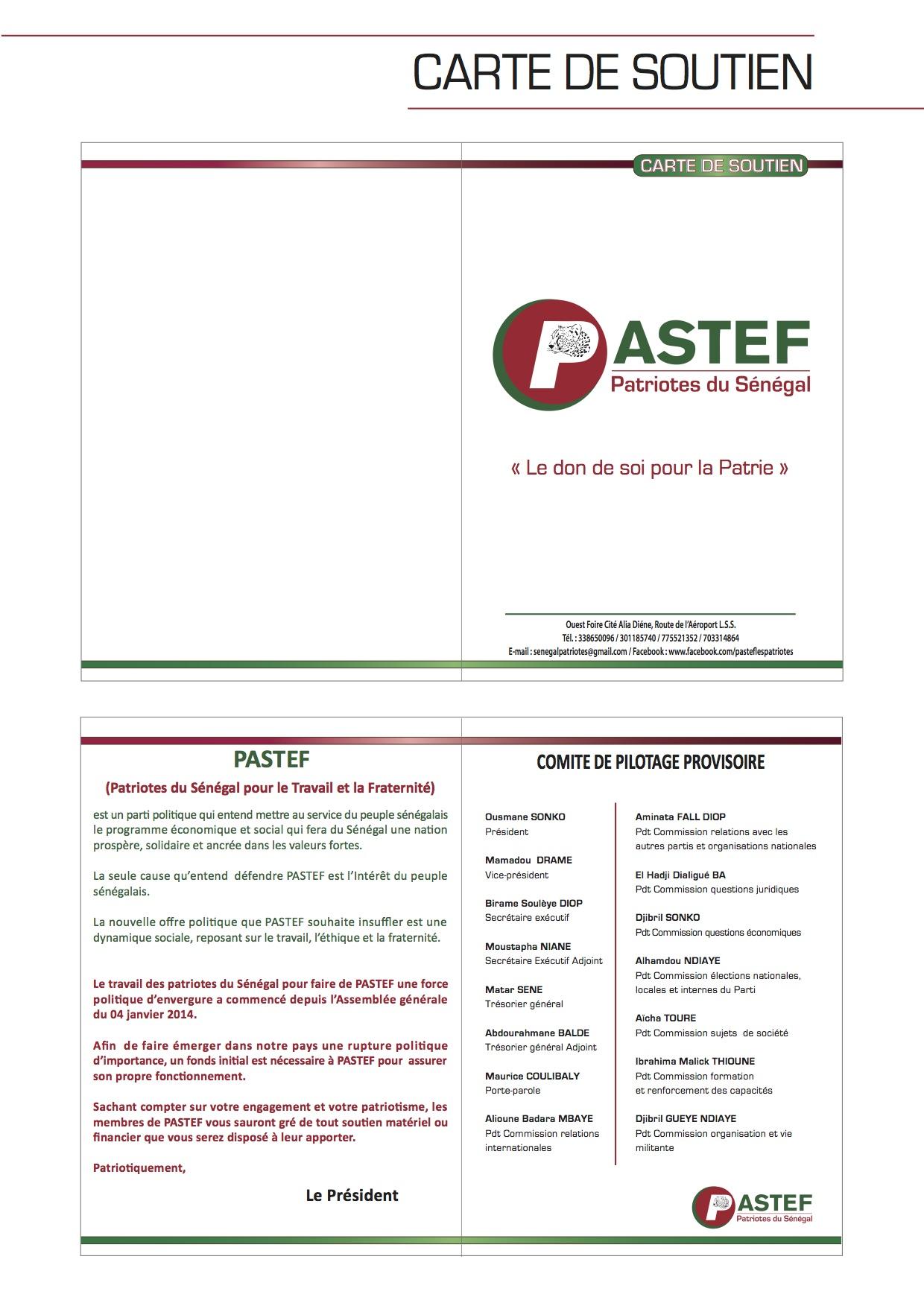 Ces 'anti-systèmes' au cœur du système de Macky Sall, l'Etat promeut 4 membres du bureau de Pastef  ( Documents )