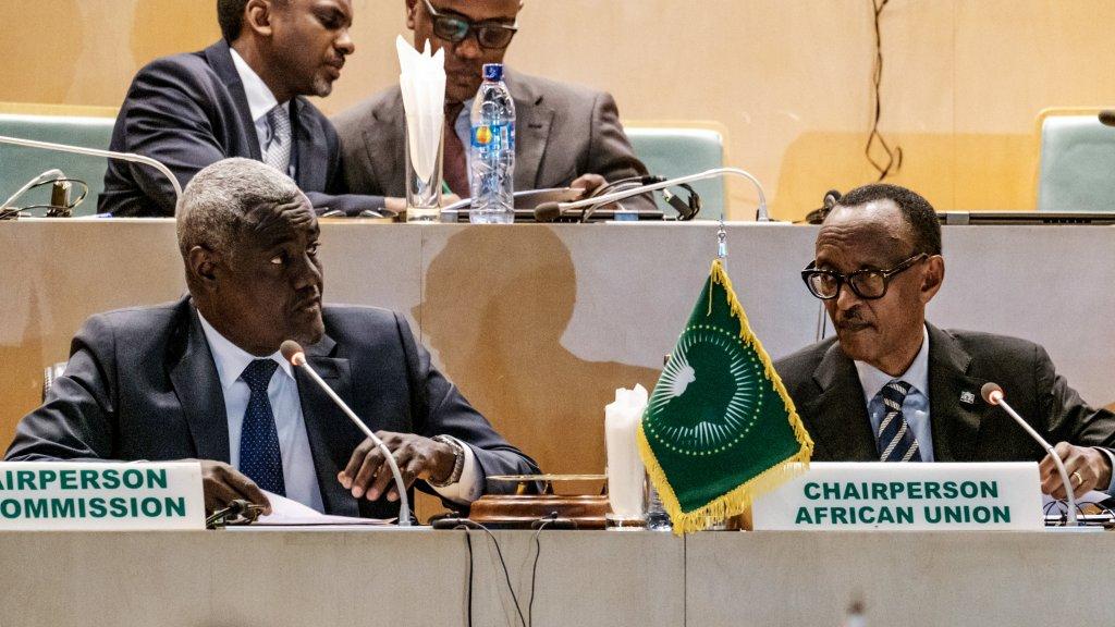 """L'Union africaine demande """"la suspension de la proclamation des résultats définitifs"""" en RD Congo"""