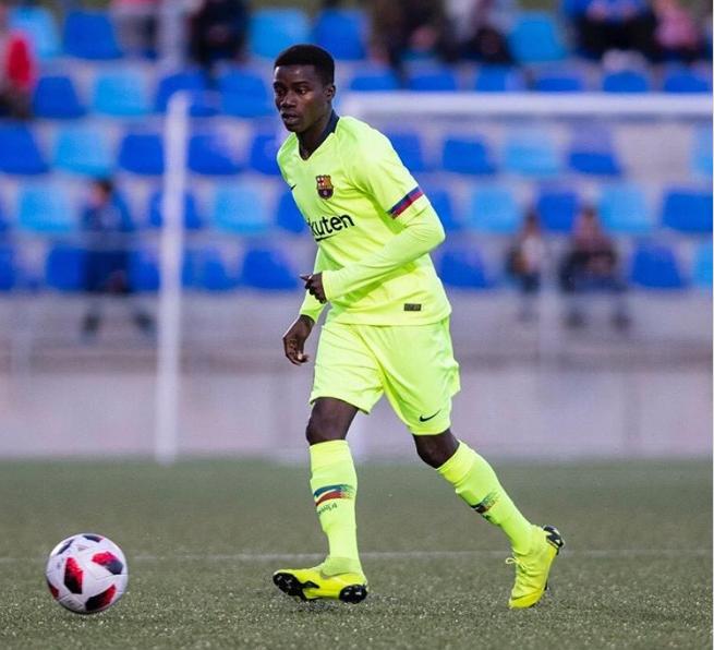 FC Barcelone B- Moussa Wagué s'excuse et s'explique après son expulsion