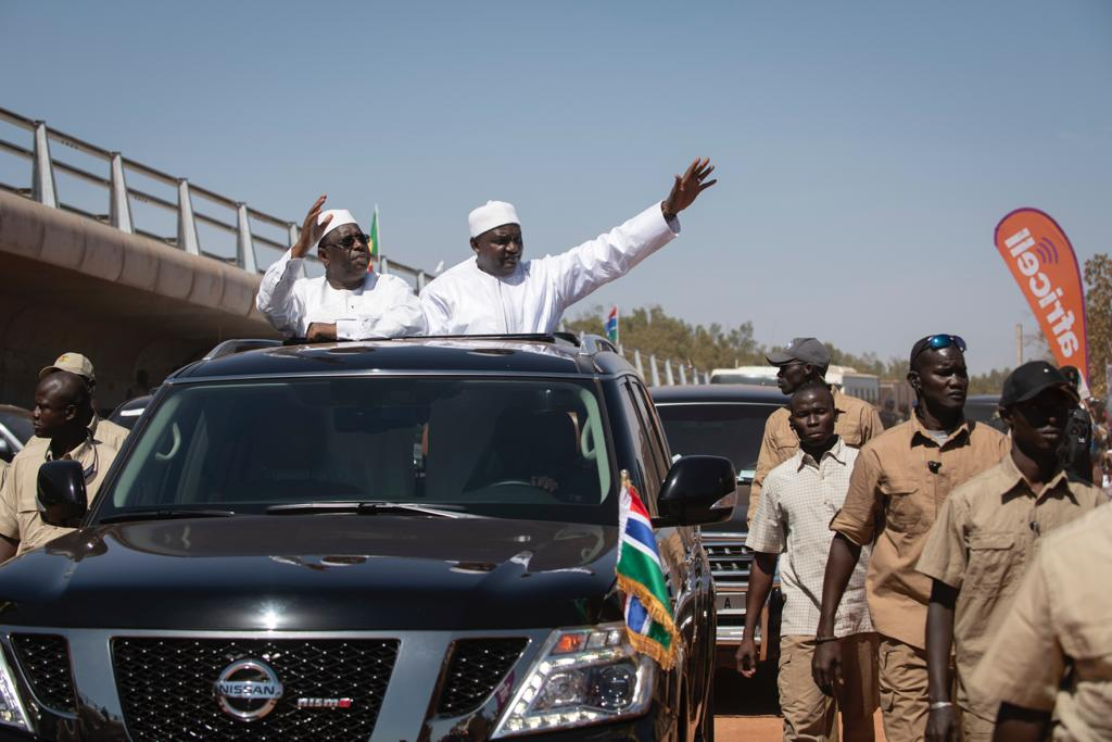Inauguration du pont de Farafégné: le foudroyant ''garuwaalé'' de Macky à Wade et Jammeh