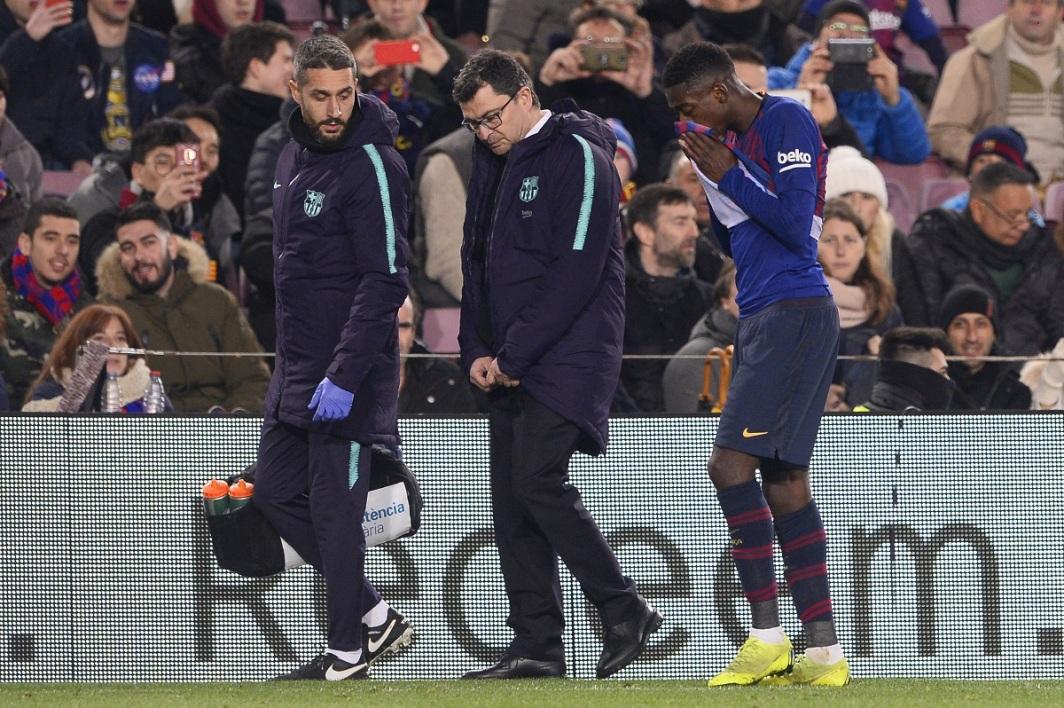 FC Barcelona : La durée de l'absence de Dembélé connue