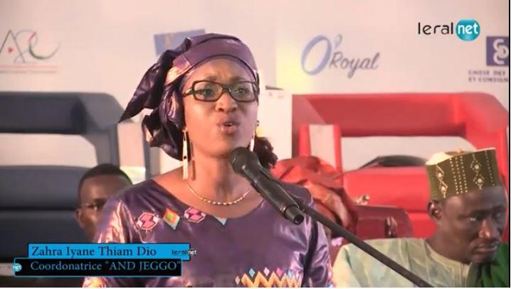 Zahra Iyane Thiam sur la tension électorale : «Nous voulons faire prévaloir le bilan de notre candidat Macky Sall et non nos muscles»