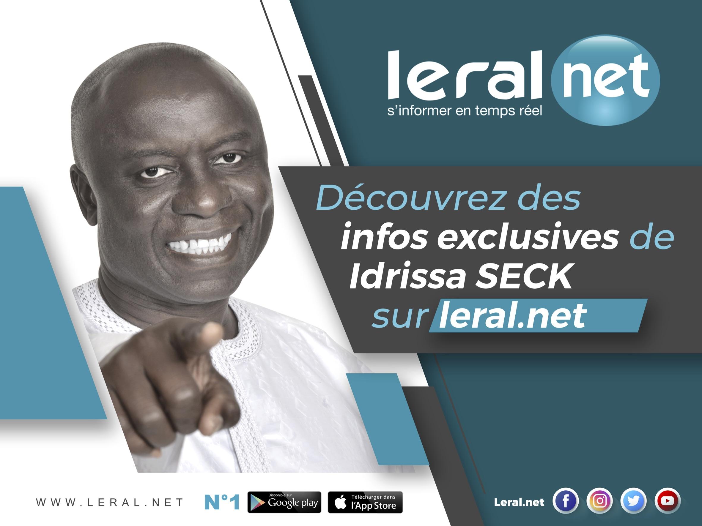 Lettre ouverte à Idrissa Seck, candidat à la présidentielle de 2019