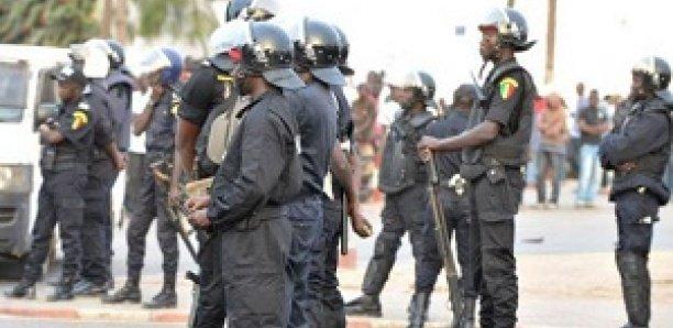 Manifestation à l'Ucad: Les policiers font usage de balles en caoutchouc