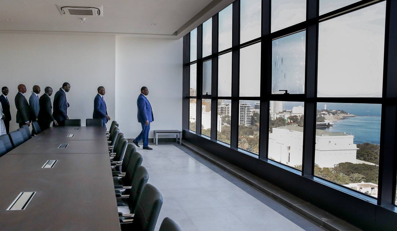 L'inauguration du Building Administratif Mamadou Dia