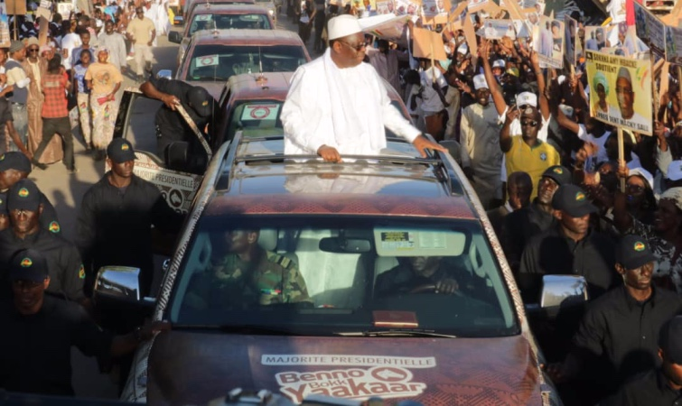 Présidentielle 2019- Kébémer: Macky Sall s'engage à rénover la ville d'Abdoulaye Wade