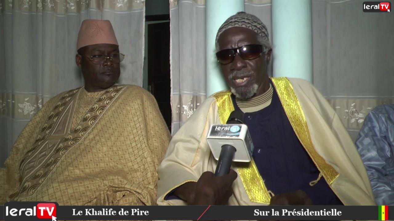 Vidéo : Élection Présidentielle : La déclaration du Khalife de Pire.