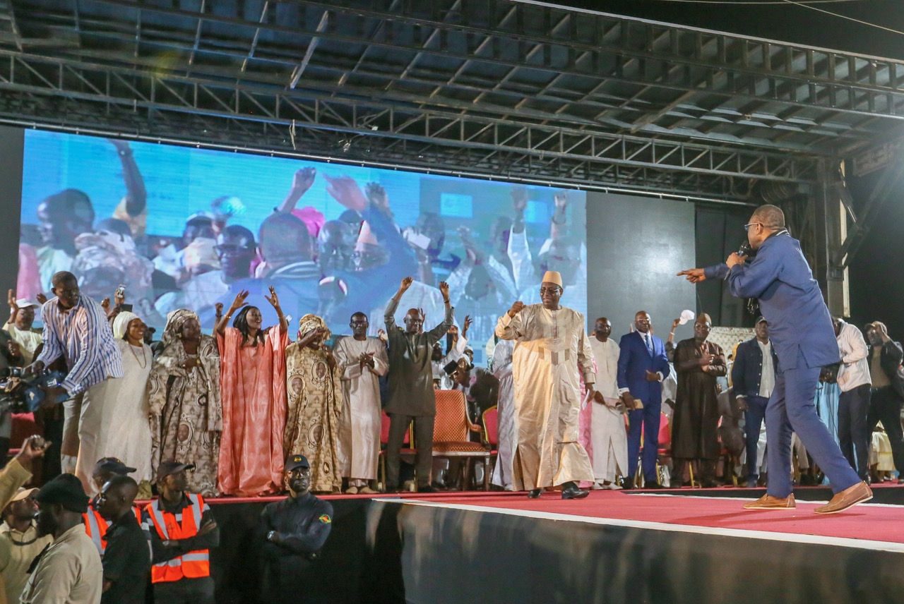 Photos : Youssou Ndour, un atout de taille pour Macky dans la campagne électorale