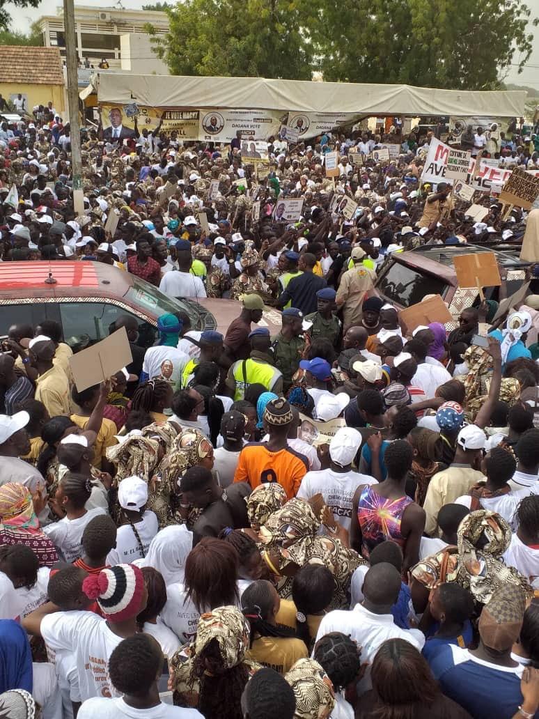 VIDEO: Modou Lô au meeting de Macky Sall à Dagana