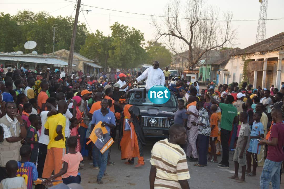 Campagne Électorale: Les images de Idrissa Seck à Gossas