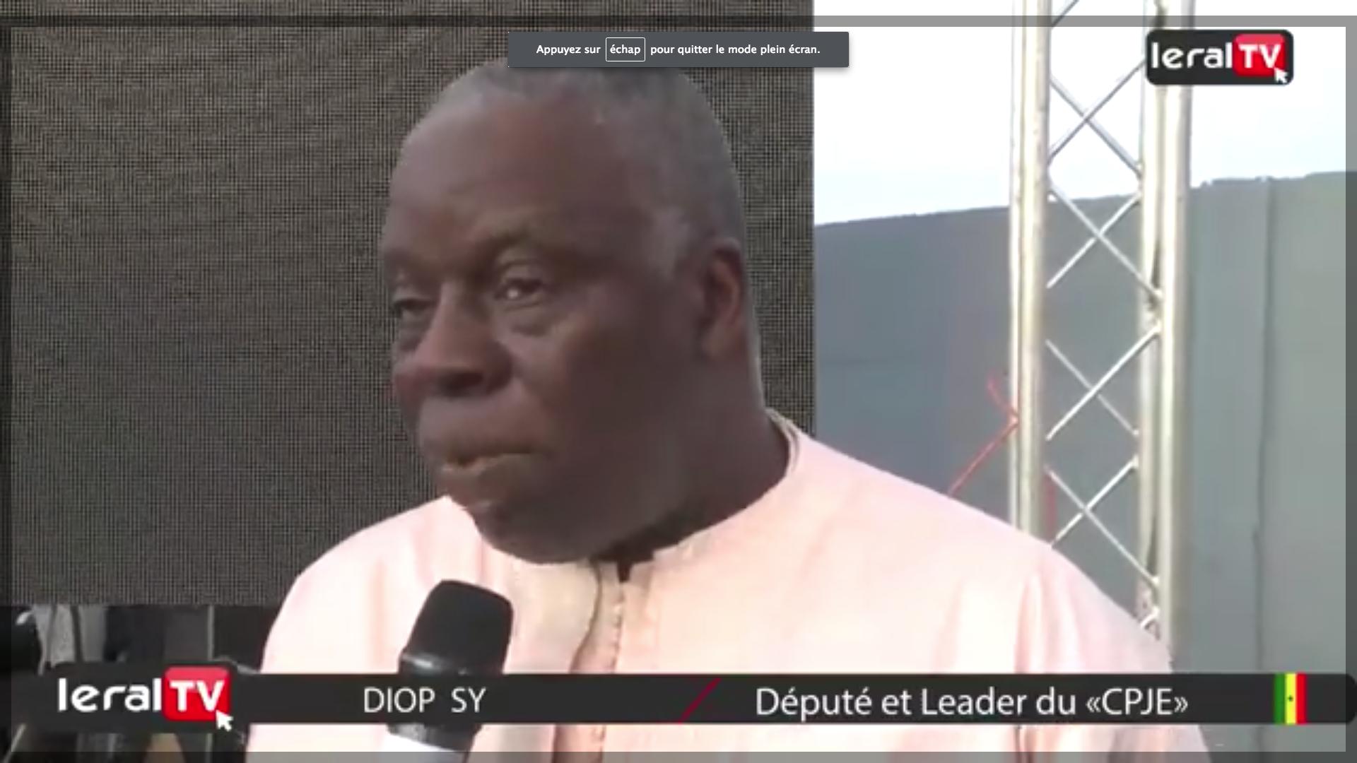"""Diop Sy aux Parcelles Assainies : """"On est confiants en la réélection du Président Macky Sall"""""""