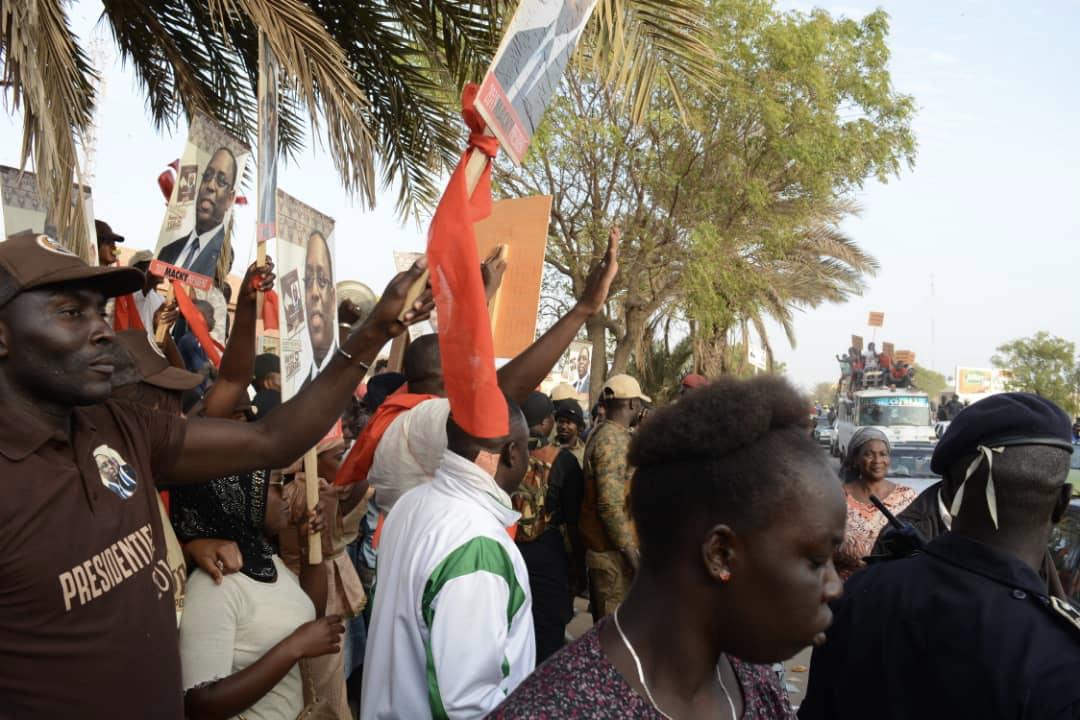 Sénégal, pays de Paix: Abdoulaye Wade accueilli à Rufisque par la Coalition BBY de Macky Sall