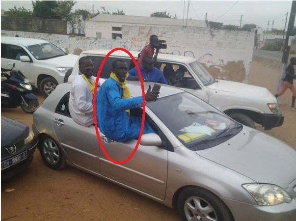 Le fils de  Moustapha Cissé Lô à l'accueil de Me Wade à Touba… (Photos)